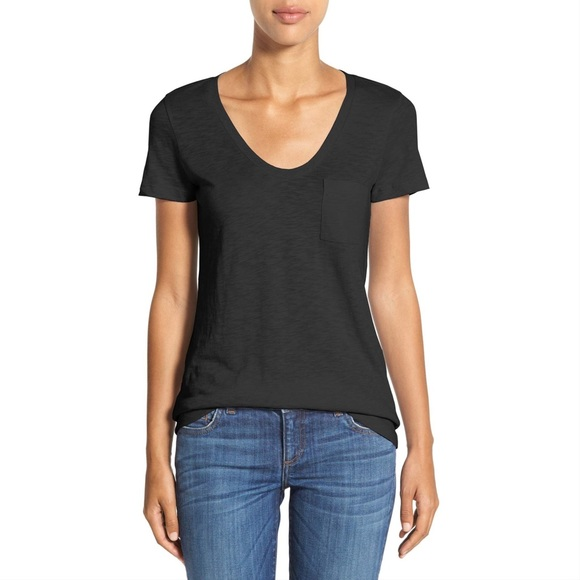 83908eac Caslon Tops | Rounded Vneck Tee | Poshmark